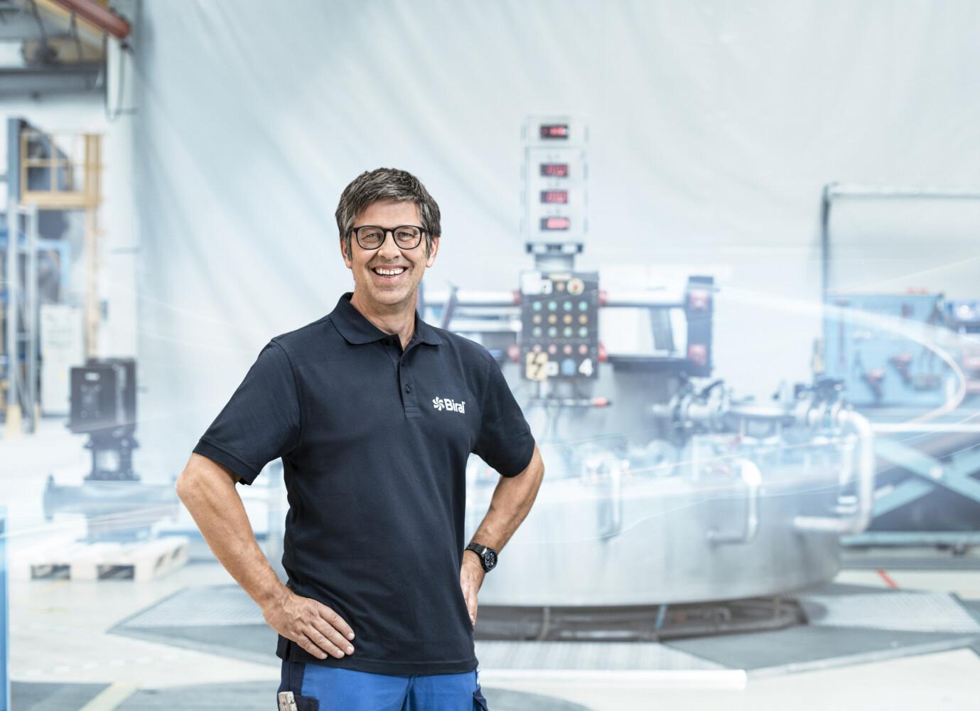 Melchior Zürcher, Leiter Produktion und Logistik
